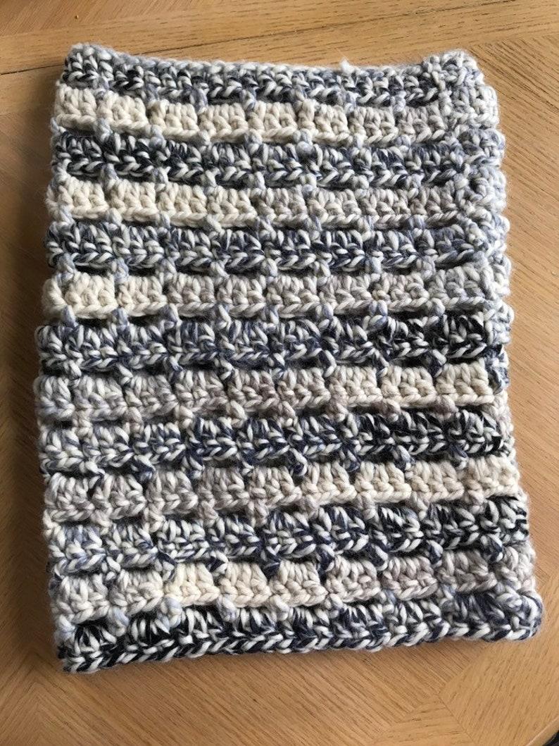 Wool Blend Loop Scarf