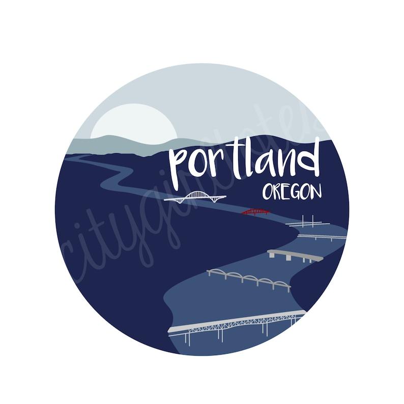 Portland City Tote