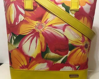 Floral Blossom Summer Tote