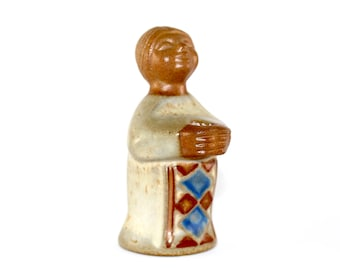 Michael andersen and son made by Marianne Stack - ceramic angel candelholder.