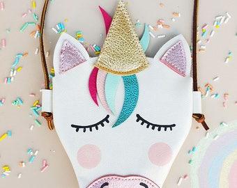 Unicorn Purse | Toddler Purse | Unicorn purses | Purse for baby | Baby Purse | Unicorn Shoes | Unicorn costume | Toddler leather purse
