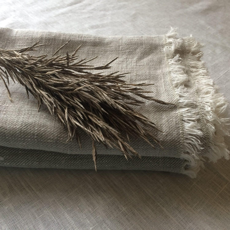Linen Bath Towels Set Of 2 Spa Towels Beach Blanket