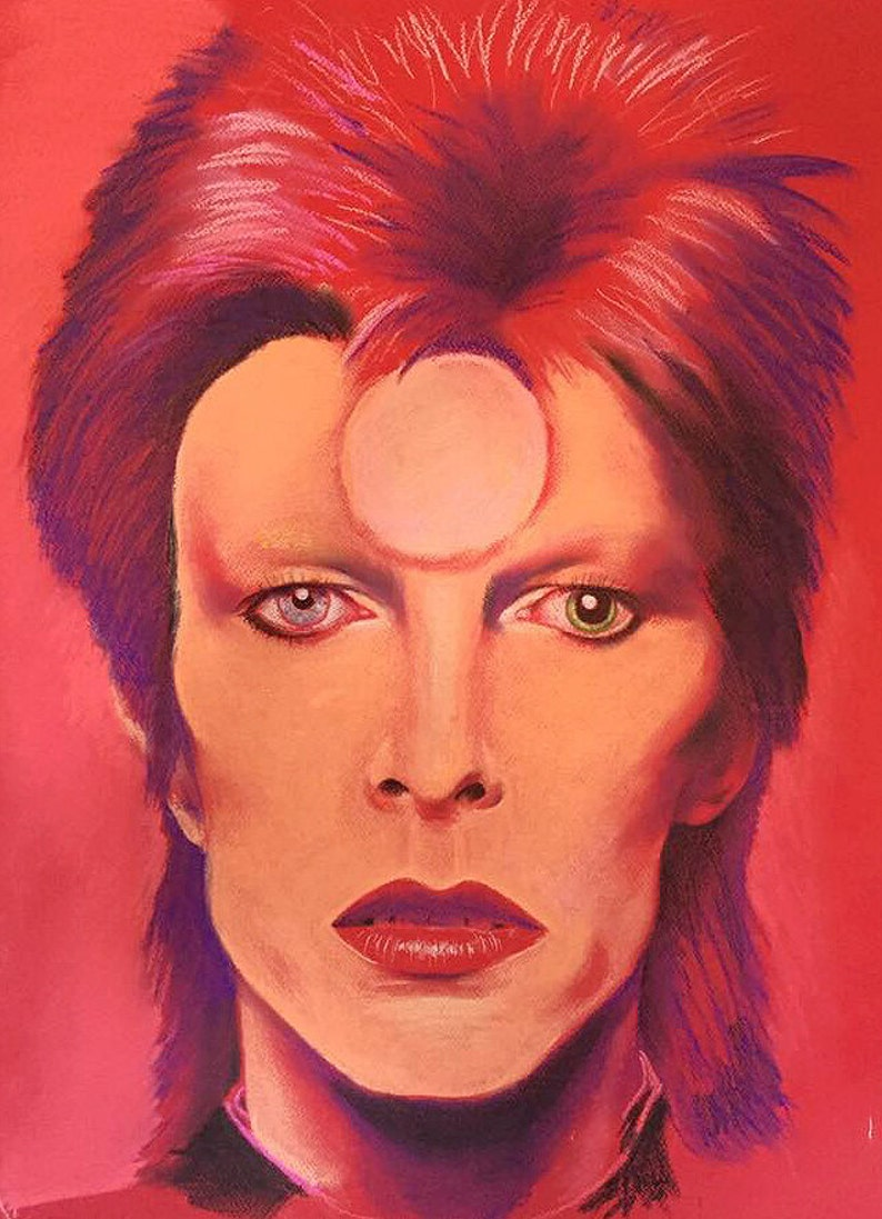 David Bowie Ziggy Stardust image 0