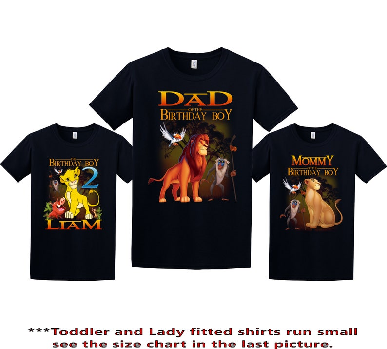 68311f9f Lion King Birthday Shirt Lion King Custom Shirt Personalized | Etsy