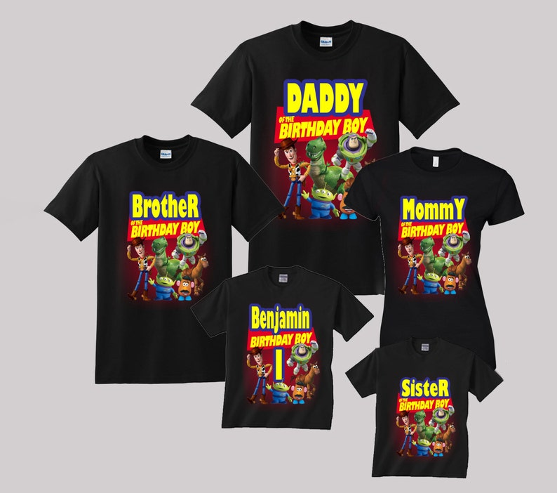 Toy Story Birthday Shirt Custom Personalized Shirts For All