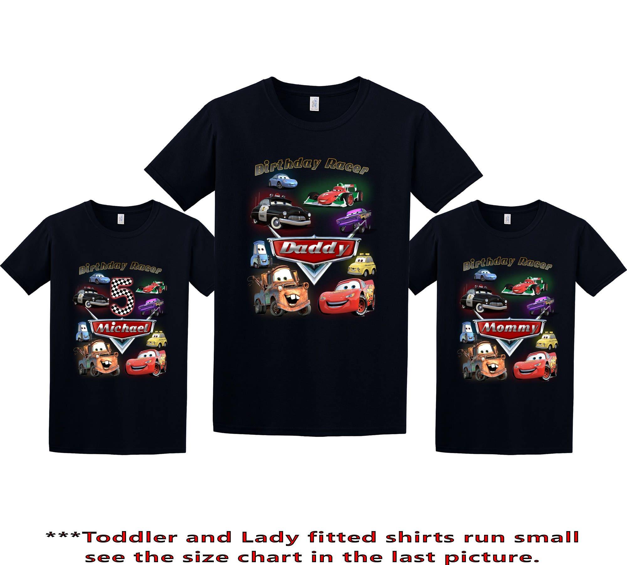 Customized Disney Cars Shirts
