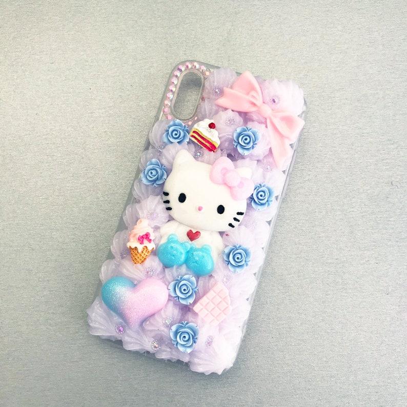 size 40 2d2d6 724d7 Decoden Cat Anime Phone Case Kawaii for Iphone X