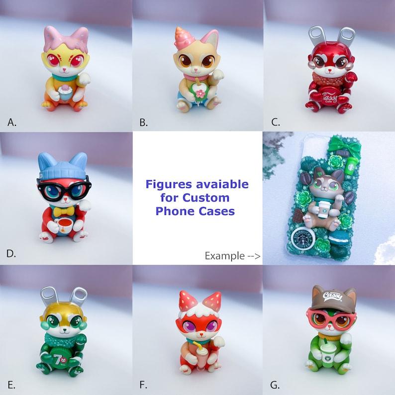 Fledermaus Anime Gaschapon Figuren Custom Decoden Case handy H\u00fclle Phone Case Iphone Samsung and Co.