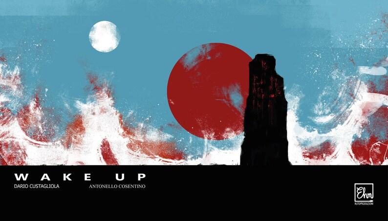 ESAURITO  Wake Up mystery horror comic image 0