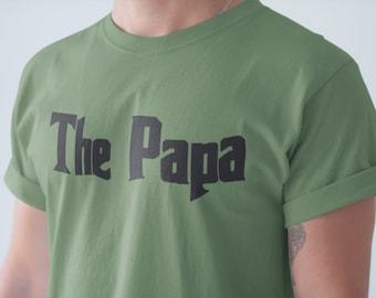 73239d0e2 The Papa Shirt - Mafia Papa T-Shirt - Godfather Style Shirt - Dad Gifts -  Father Shirt - Fathers Day Shirt - Gift for Husband