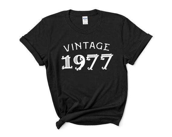 Awesome since 1977 Womens T Shirt