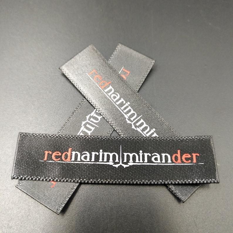 2688efbda5b8b 300 impreso satén etiqueta etiqueta de raso para ropa