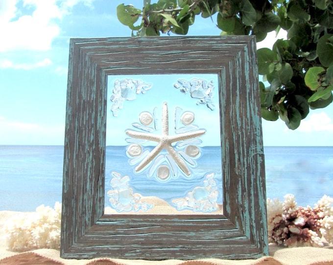 Beach Glass Sea Biscuits and Starfish #95