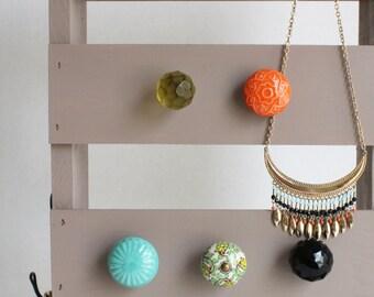 Hazel Color Jewelry Organizer