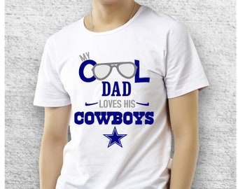 Fathers Day Cool Dad-Dallas Cowboys SVG