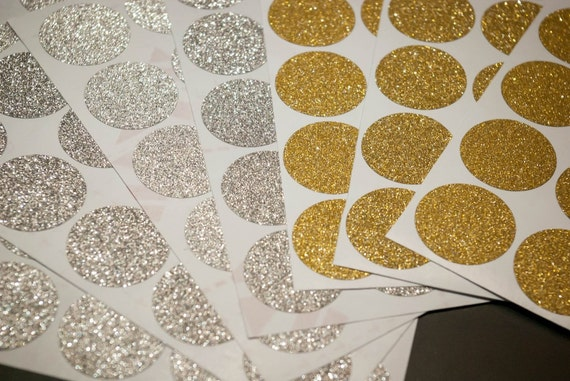 Gold Glitter Polka Dots Removable Wallpaper Home Decor Etsy