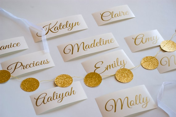 Custom Gold Name Sticker Wedding Invitation Seals Personalized Name Decal Wine Glass Sticker Wedding Stickers Envelope Seals
