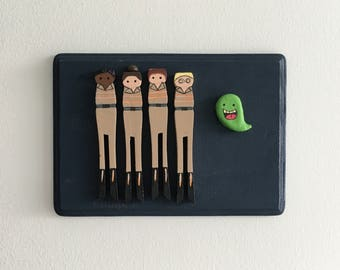 Ghostbusters Clothespin Dolls