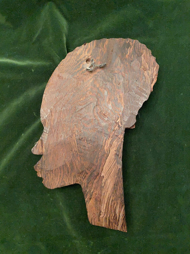 Vintage wooden African carving