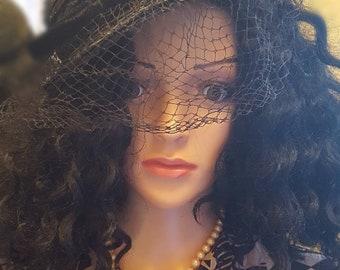 Vintage Fascinator hat