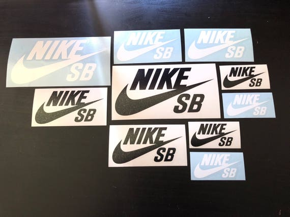 Stickers Stickers Stickers de Nike skateboard chaussures diaHommest vinyle Etsy 80021f