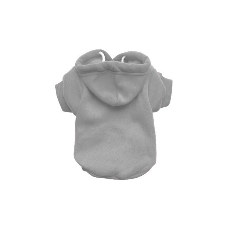 Grey Dog Hoodie  Grey Dog Sweater  Grey Dog Jumper  image 0