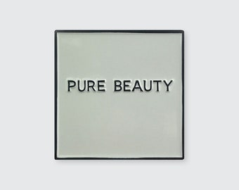 """Inspired by """"Pure Beauty"""" by John Baldessari"""
