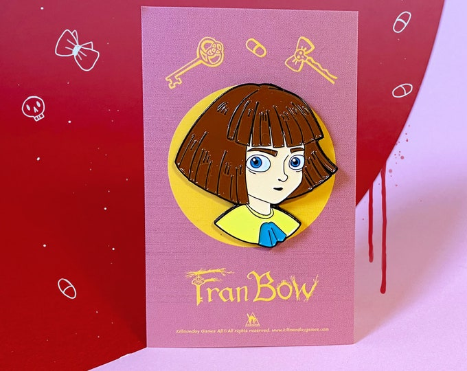 Fran Bow Pin - Purple Collection