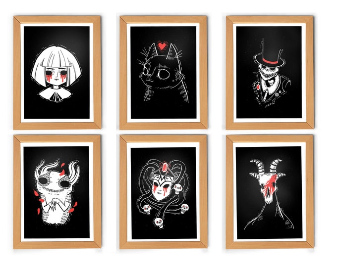 A5 Fran Bow Portrait Collection 6-pack