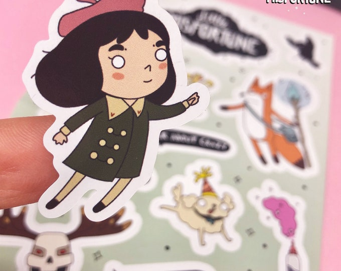 Sticker Sheet - Little Misfortune