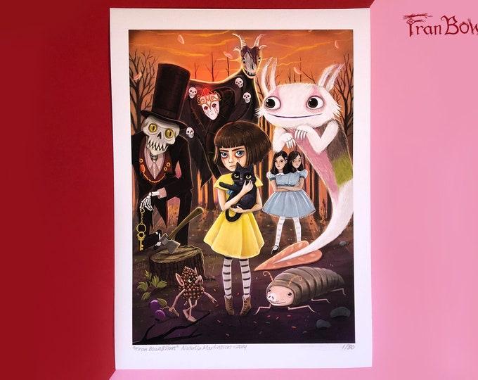 Fran Bow All Stars - Fine Art Print 2nd Edition