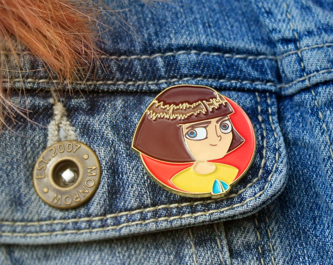 Fran Bow  Soft Enamel Pin