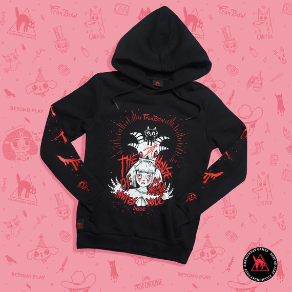 House of Madness Hoodie - Fran Bow