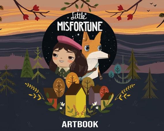 Digital Little Misfortune Artbook