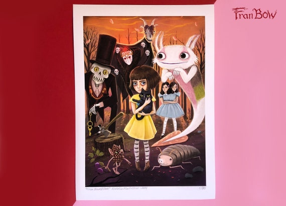 Fran Bow All Stars - Fine Art Print. Signed by artist
