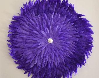 Juju purple feather