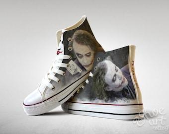 Joker converse | Etsy