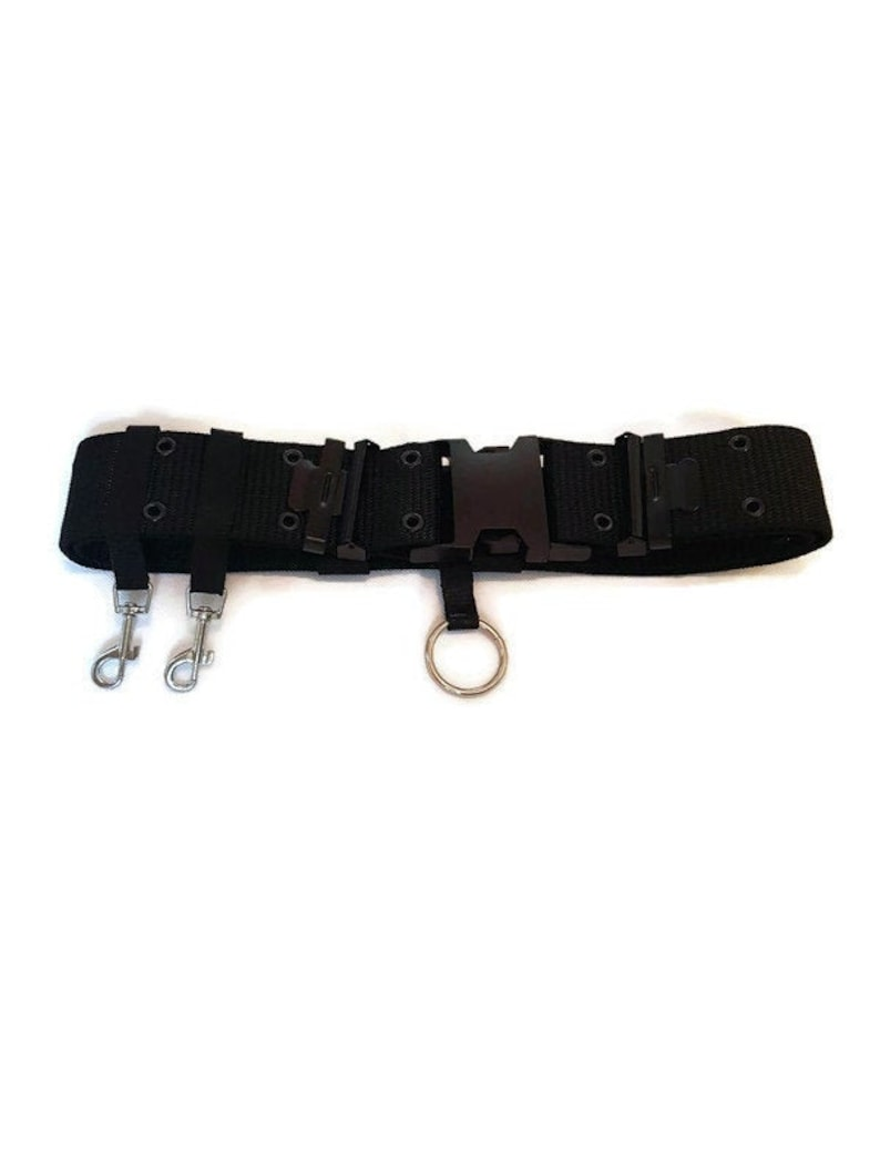Ghostbusters 2 belt uniform costume belt black, military, GB2