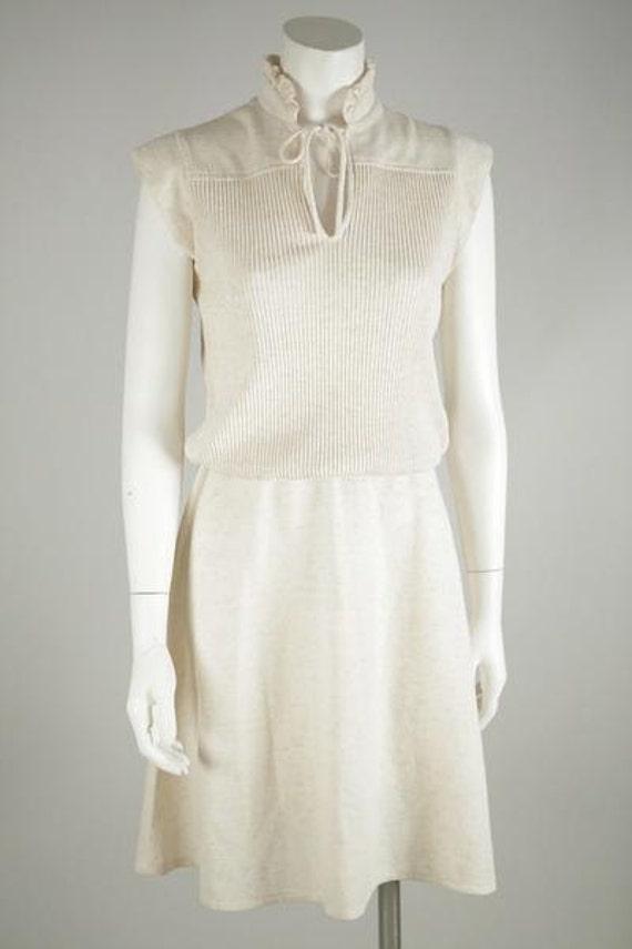 1970's Mod Sweater Dress