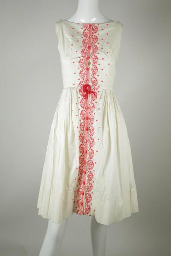 1950s Cotton Sundress