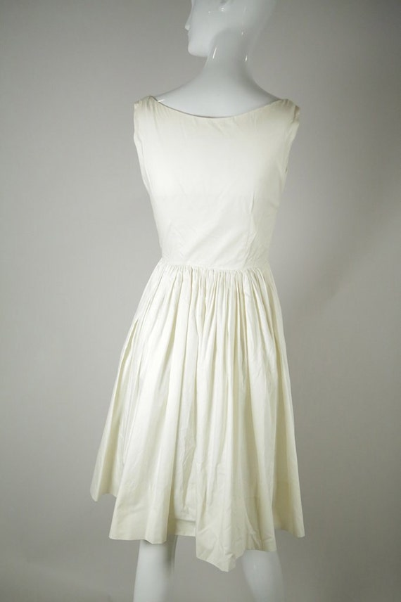1950s Cotton Sundress - image 4