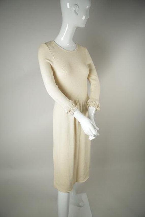 1970s 3/4 Sleeve Dress