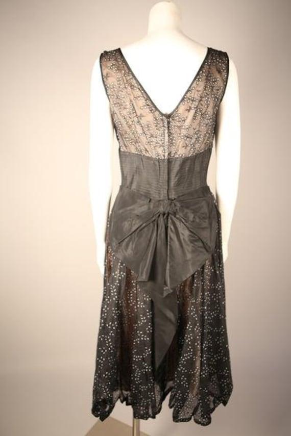 1950s Organza Circle Dress