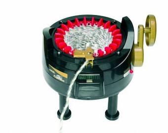 Addi express knitting machine with 22 needles 990-2 + Accessory selection