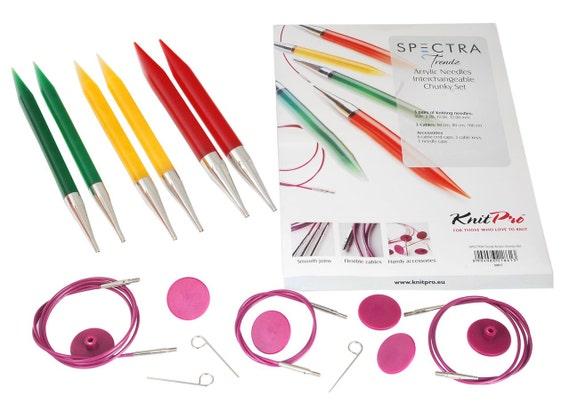 KnitPro-spectra Acrylique trendz Chunky-set