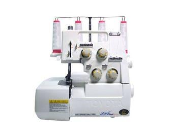 TOYOTA SL3487 Overlock sewing machine