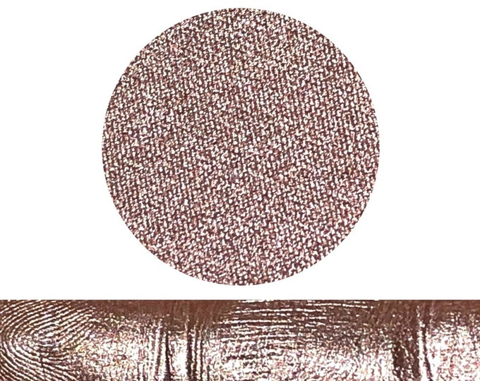 AMBIANCE - Pressed Eyeshadow Pigment- foiled metallic pink peach  Champagne