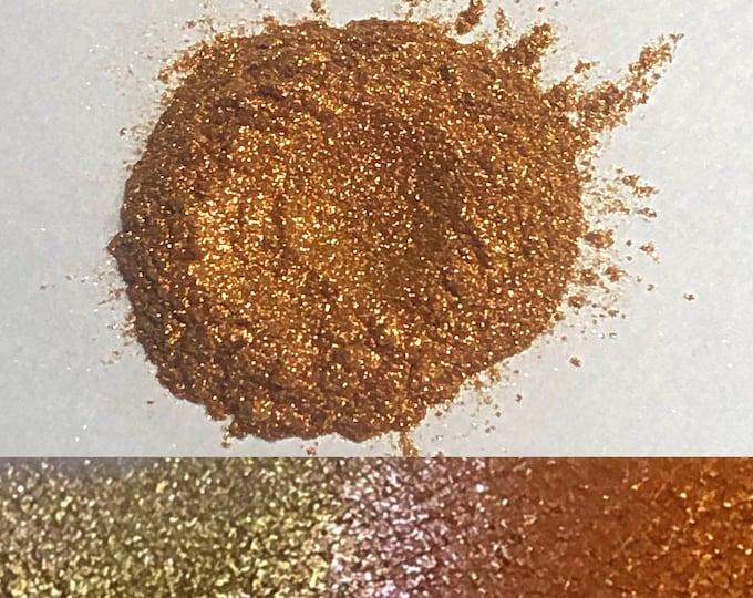 DAYBREAK *LOOSE* - Chameleon Super Sparkler - loose eyeshadow/ pigment- multichrome gold copper pink