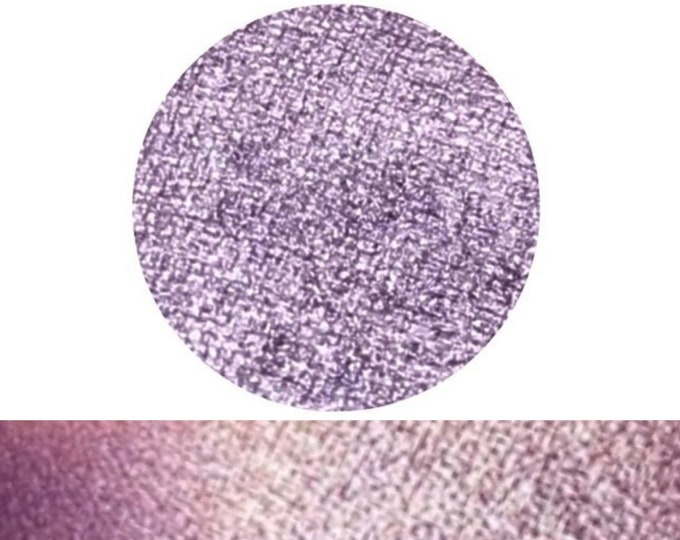 SOFT VIOLET- Pressed Eyeshadow Pigment- Metallic Purple with an icy lavender shift