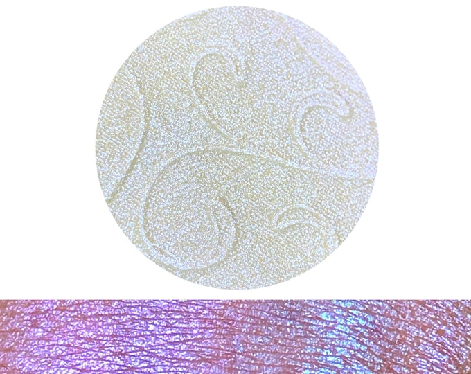 COTTON CANDY SKIES - Chameleon Pressed Highlighter Pigment- color shifting iridescent multi-chrome purple pink blue